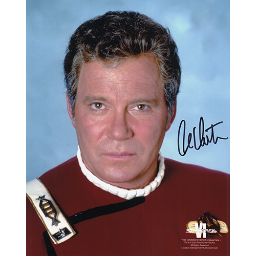 "William Shatner Autographed 8""x10"" (Star Trek)"