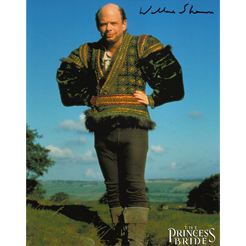 """Wallace Shawn Autographed 8""""x10"""" (The Princess Bride)"""