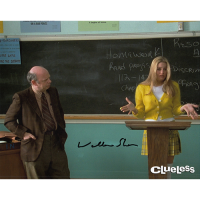 """Wallace Shawn Autographed 8""""x10"""" (Clueless)"""
