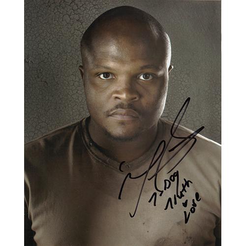 "I-ronE Singleton Autographed 8""x10"" (The Walking Dead)"