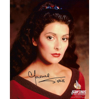 "Marina Sirtis Autographed 8""x10"" (Star Trek: The Next Generation 2)"