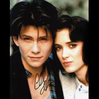 "Christian Slater Autographed 8""x10"" (Heathers)"