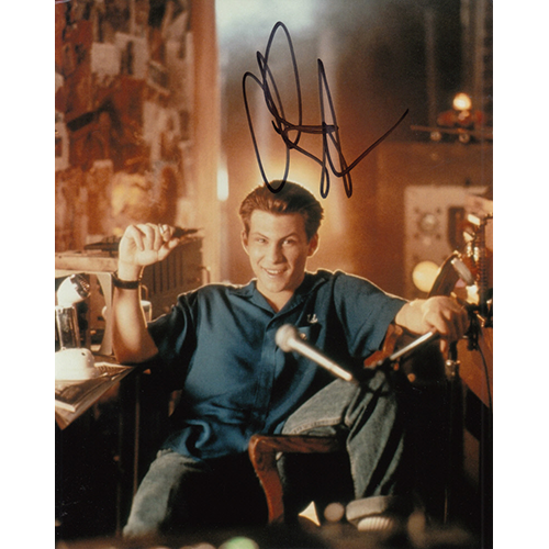 """Christian Slater Autographed 8""""x10"""" (Pump Up The Volume)"""
