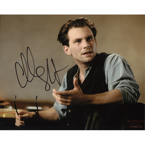 "Christian Slater Autographed 8""x10"" (Interview With a Vampire)"