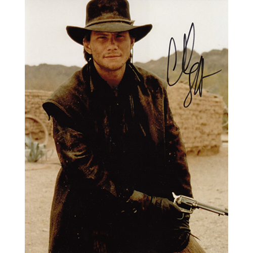 """Christian Slater Autographed 8""""x10"""" (Young Guns)"""