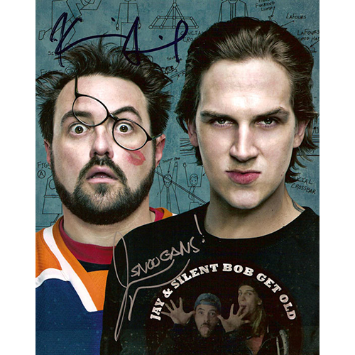 "Kevin Smith & Jason Mewes Autographed 8""x10"" (Jay & Silent Bob)"