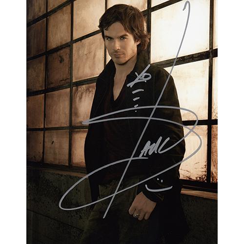 "Ian Somerhalder Autographed 8""x10"" (The Vampire Diaries)"