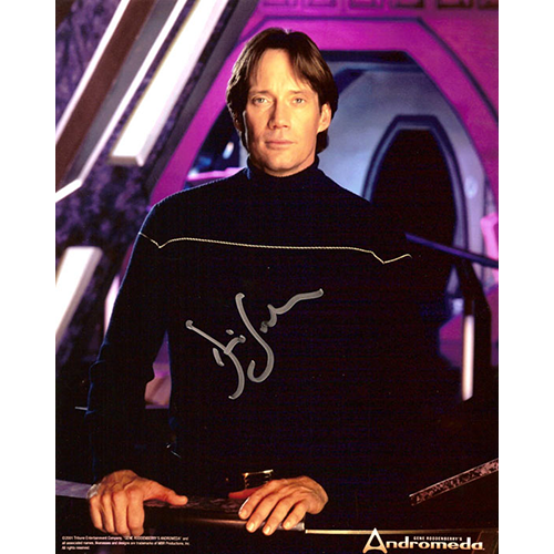 """Kevin Sorbo Autographed 8""""x10"""" (Andromeda)"""