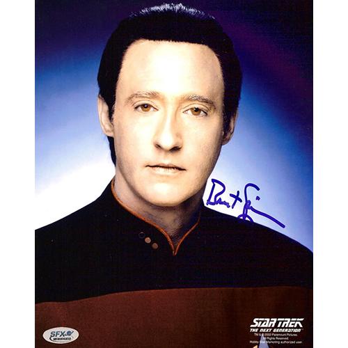 "Brent Spiner Autographed 8""x10"" (Star Trek: The Next Generation 1)"