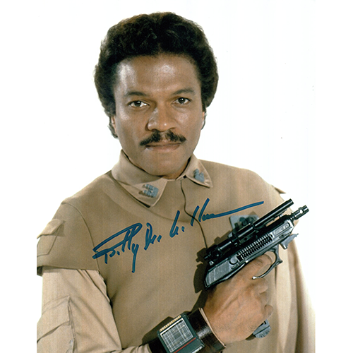"""Billy Dee Williams Autographed 8""""x10"""" (Star Wars)"""