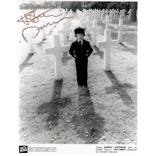 "Harvey Stephens Autographed 8""x10"" (The Omen)"