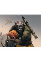 "Steve Blum Autographed 8""x10"" (Star Wars Rebels)"