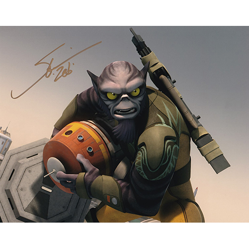 "Steve Blum Autographed 8""x10"" (Star Wars Rebels)"