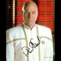 """Patrick Stewart Autographed 8""""x10"""" (Star Trek: The Next Generation - Captain Picard 3)"""