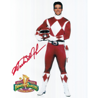 "Austin St John Autographed 8""x10"" (Power Rangers)"