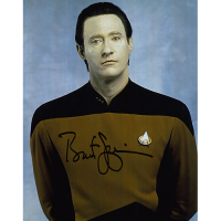 "Brent Spiner Autographed 8""x10"" (Star Trek: The Next Generation)"