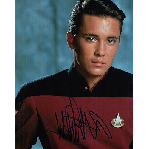 "Wil Wheaton Autographed 8""x10"" (Star Trek: The Next Generation)"