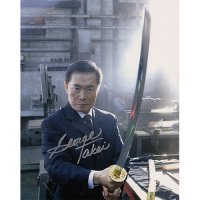 "George Takei Autographed 8""x10"" (Heroes)"