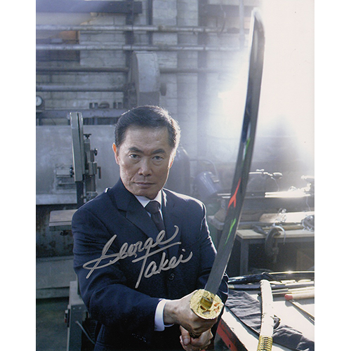 "George Takei Autographed 8""x10"" (Heroes)"
