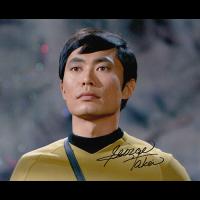 "George Takei Autographed 8""x10"" (Star Trek)"
