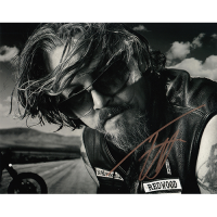 """Tommy Flanagan Autographed 8""""x10"""" (Sons of Anarchy)"""