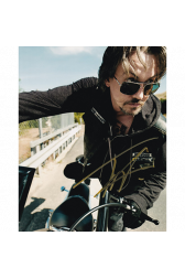 "Tommy Flanagan Autographed 8""x10"" (Sons Of Anarchy)"