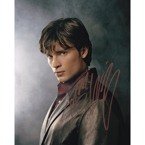 """Tom Welling Autographed 8""""x10"""" (Smallville)"""