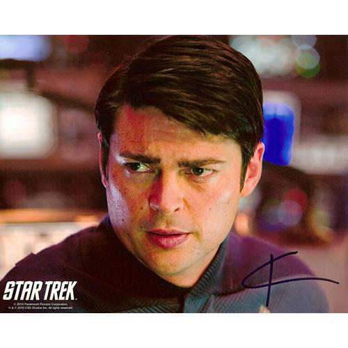"Karl Urban Autographed 8""x10"" (Star Trek - Bones)"