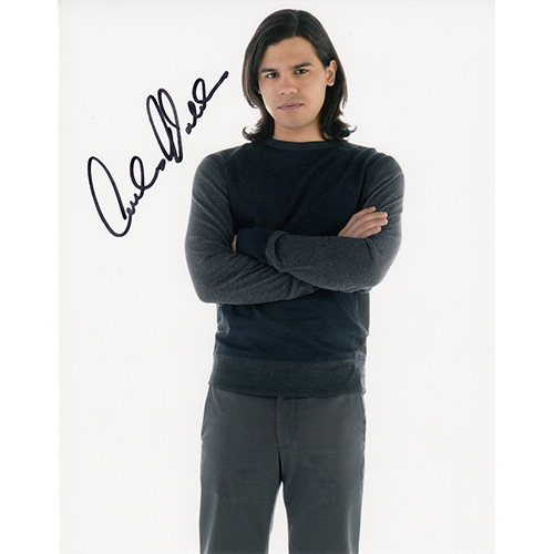 "Carlos Valdes Autographed 8""x10"" (The Flash)"