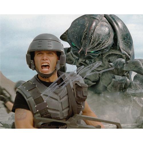 """Casper Van Dien Autographed 8""""x10"""" (Starship Troopers)"""