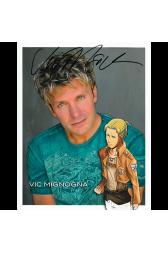 "Vic Mignogna Autographed 8"" x 10"" - 1"