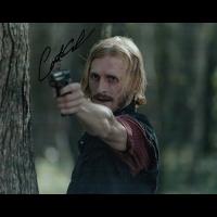 """Austin Amelio Autographed 8""""x10"""" (Walking Dead)"""
