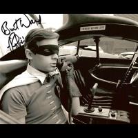 "Burt Ward Autographed 8""x10"" (Batman And Robin)"