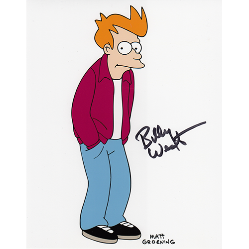 "Billy West Autographed 8""x10"" (Futurama)"