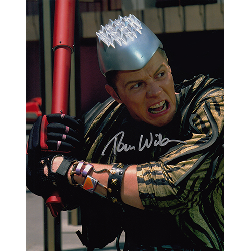 """Tom Wilson Autographed 8""""x10"""" (Back to the Future)"""