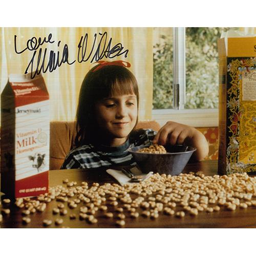 "Mara Wilson Autographed 8""x10"" (Matilda)"