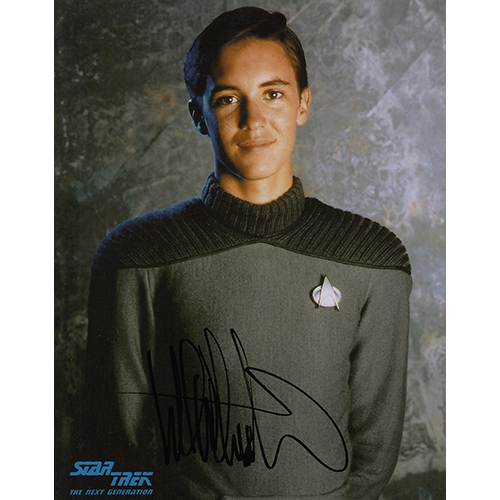 "Wil Wheaton Autographed 8""x10"" (Star Trek: The Next Generation)"