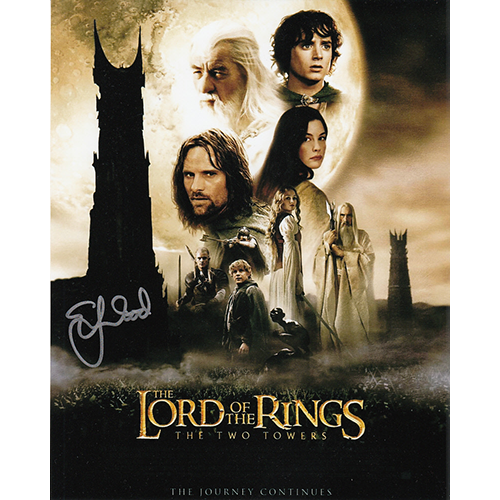 """Elijah Wood Autographed 8""""x10"""" (Lord of the Rings Poster)"""