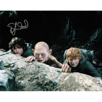 "Elijah Wood Autographed 8""x10"" (Lord of the Rings - Trio)"