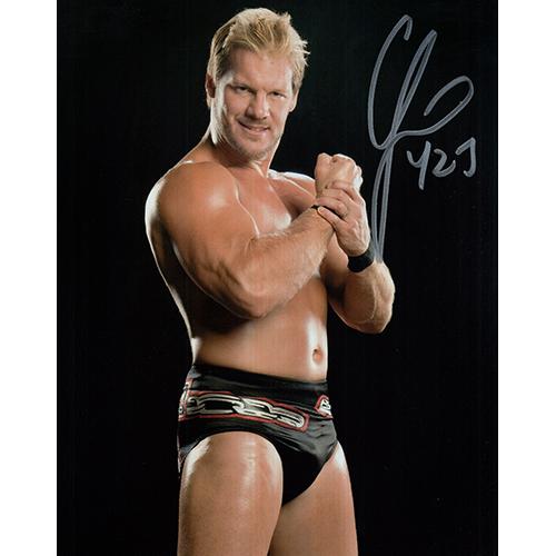 """Chris Jericho Autographed 8""""x10"""" (WWE)"""