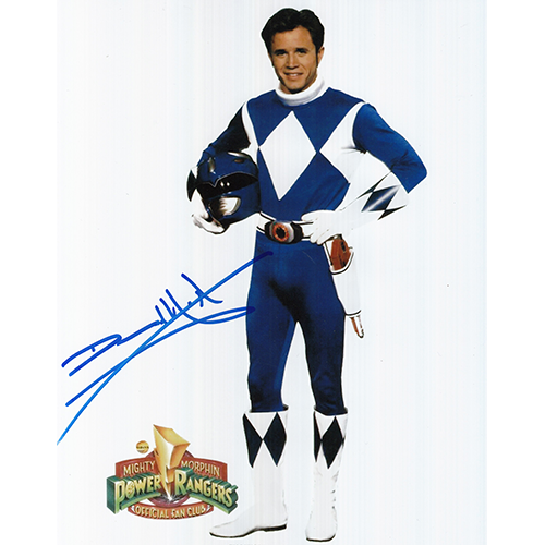 "David Yost Autographed 8""x10"" (Power Rangers)"