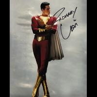 """Zachary Levi Autographed 8""""x10"""" (Shazam)"""