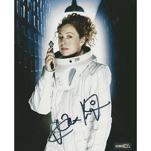 "Alex Kingston Autographed 8""x10"" (Doctor Who) Companion"
