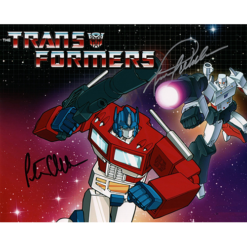 """Frank Welker and Peter Cullen Autographed 8""""x10"""" (Transformers)"""