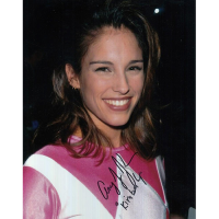 "Amy Jo Johnson Autographed 8""x10"" (Power Rangers)"