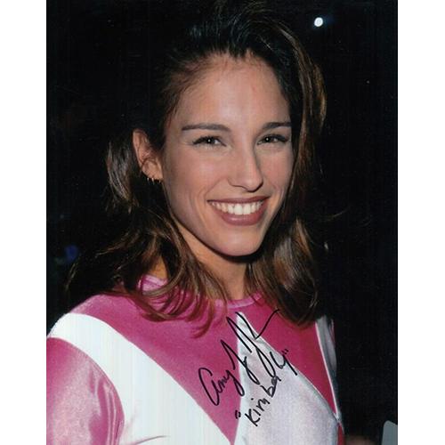 "Amy Jo Johnson Autographed 8""x10"" (Power Rangers)"