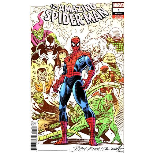Amazing Spider-Man #1 1:100 John Romita SR Retailer Incentive