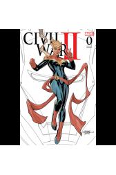 Civil War II #0 Fan Expo Sketch Edition
