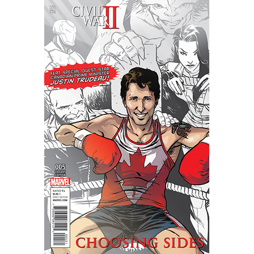 Civil War II:  Choosing Sides #5 Fan Expo Edition