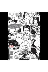 Civil War II:  Choosing Sides #5 Fan Expo B/W Edition